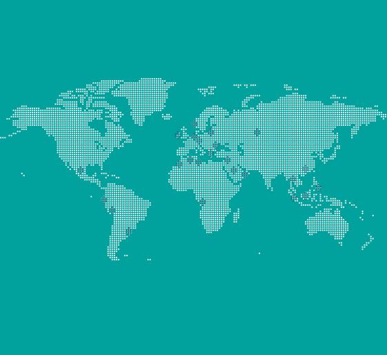 Carte des implantations